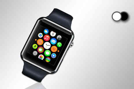 Toy Meets World - A1 smart watch choose either black or white - Save 57%