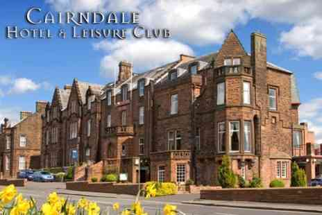 The Cairndale Hotel & Leisure Club - Two Night Getaway For Two With Bed and Breakfast for £125  - Save 57%