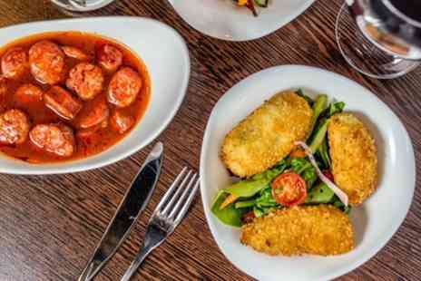 Amantia Restaurant - Up to 12 Item Tapas Lunch with Wine for Up to Four - Save 51%