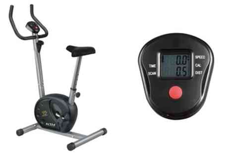 Groupon Goods Global GmbH - Star Shaper Magnetic Resistance Exercise Bike With Free Delivery - Save 36%