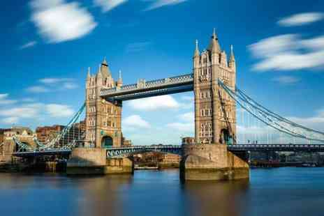 City Cruises - Childs ticket to an all day, hop on hop off London sightseeing River Red Rover cruise - Save 52%