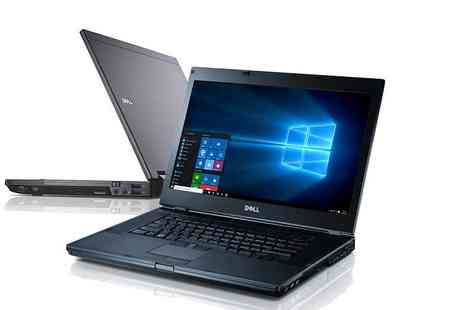 CRS - Refurbished Dell Latitude E6410 with Intel Core i5 Processor, 160GB HDD, Windows 10 and 4GB of RAM - Save 60%