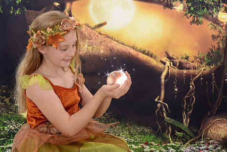 Chris Mullane Photography - Fairy photoshoot for up to three people including four prints - Save 94%