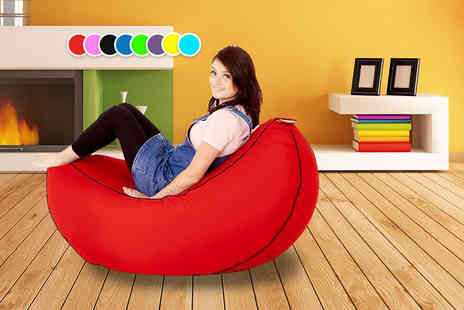 Changing Sofas - A childs banana bean bag or an adults, choose from eight colours - Save 81%