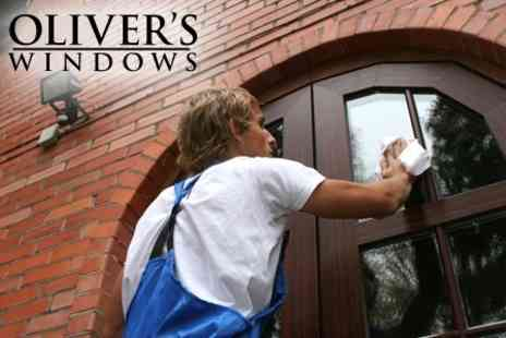 Oliver's Windows - Choice of up to 50 for £13 Residential Windows Cleaned - Save 62%