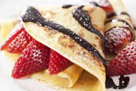 Flipping Crepes - Choice of Sweet Crepe or Ice Cream - Save 50%