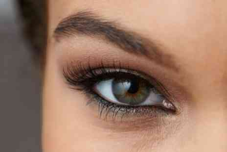 Lily Hair & Beauty Salon - LVL Full Set of Eyelashes with Optional Eyebrow Wax - Save 47%