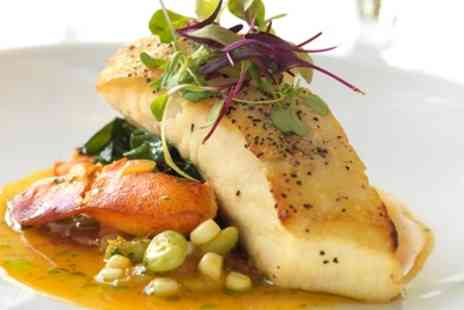 The Fox and Castle - Two Course Meal for Two or Four - Save 53%
