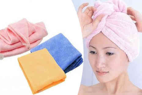 Globi Toys - Four Hair Towels - Save 0%