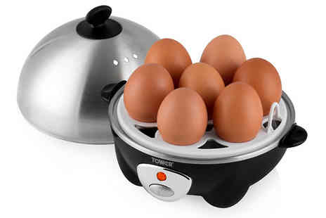 AMS Global - Three in One Electric Egg Poacher, Boiler and Cooker - Save 0%
