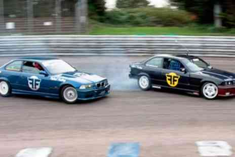 Flatout Factory - Brands Hatch 3 Hour Drift Car Driving Course - Save 65%