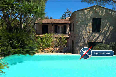 The Vuyani Safari Lodge - Luxurious seven night South of France trip for up to 10 people - Save 34%