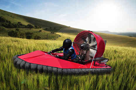 Hover Limits - Five lap hovercraft experience choose from three locations - Save 63%