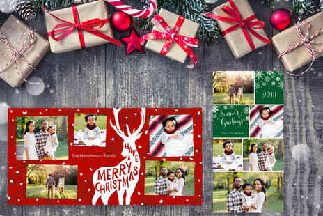 Harrier LLC - 20 personalised Christmas cards - Save 60%