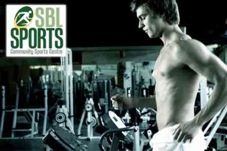 SBL Sports - Three Month Gym Membership  With Personal Training Session £14 - Save 88%