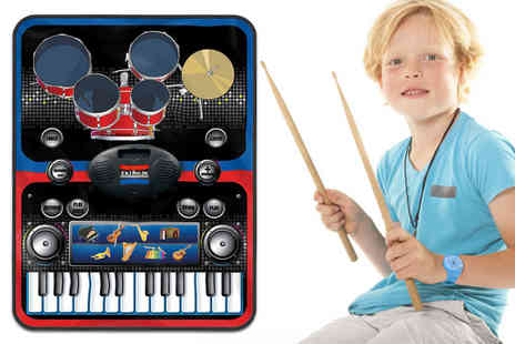 ViVo Technologies - Two In One piano and drums music jam play mat - Save 76%