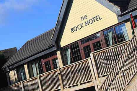 The Rock Hotel - Overnight stay for two, including breakfast and a bottle of Prosecco - Save 36%