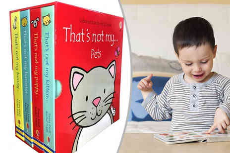 Snazal - Thats Not My Pets Four Book Collection - Save 0%