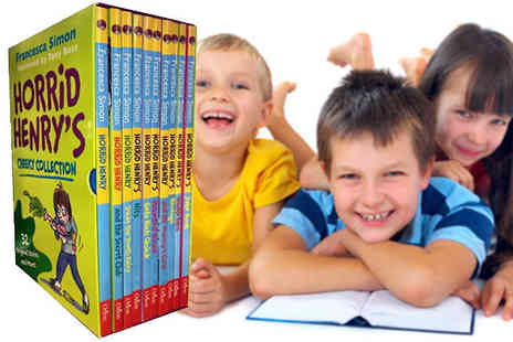 Snazal - Horrid Henry Cheeky Collection 10 Book Set - Save 0%