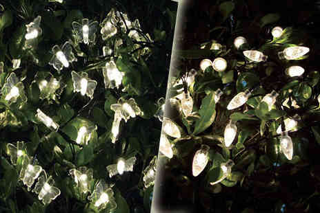 M&M Deals - 35 LED Festive Fairy Lights Available Two Designs - Save 0%