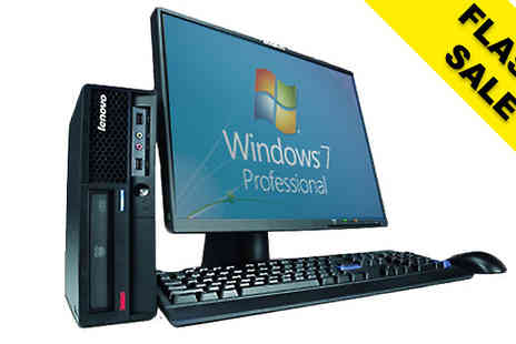 WJMTech - Lenovo Desktop WiFi Tower or Full System 17inch or 19inch Screen - Save 0%
