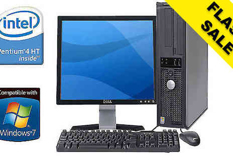 WJMTech - Dell Desktop WiFi PC with Optional Bundle; Grade B Refurb - Save 0%