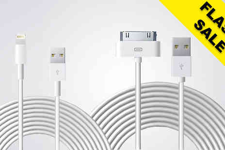 Gizmo Gadgets - 10ft USB Charging Cable For iPhone 4 Or 5 Or 6 Or 6S Or 7 - Save 85%