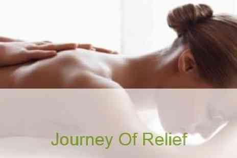 Mini Holiday Massages - Journey of Relief 60 or 90 minutes for Swedish Massage - Save 36%