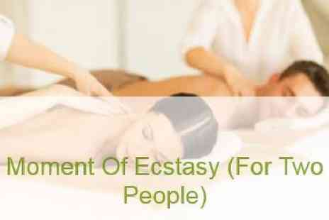 Mini Holiday Massages - Moment of Ecstasy 30, 60, 90 or 120 minutes for two - Save 25%