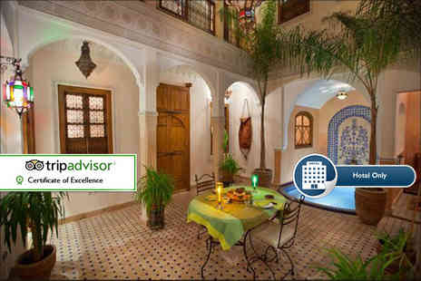 Riad LArbre Bleu - Three, five or seven nights in Marrakech including breakfast, dinner options and a hammam treatment for two - Save 82%