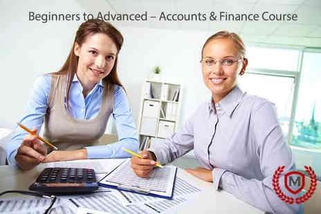 Manchester School of Languages - Online beginners course in finance & accounting - Save 96%