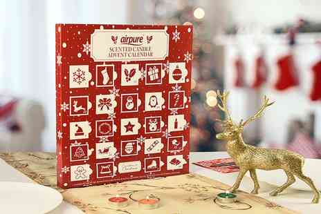 Groupon Goods Global GmbH - One, Two or Four Large Scented Candle Christmas Advent Calendars - Save 0%