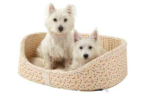 Groupon Goods Global GmbH - Bunty Blossom Dog Bed in Choice of Size and Colour - Save 0%
