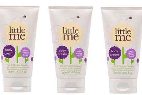 Groupon Goods Global GmbH - Three Pack of Little Me Shhh Sleepy Head Body Cream - Save 0%