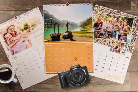 eColorland - Personalised A4 Portrait Photo Calendar - Save 0%