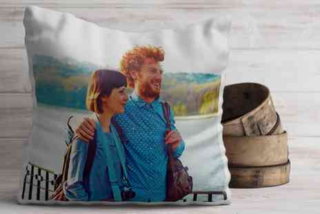 Photo Gifts - Personalised Photo Cushion with Gloss - Save 0%