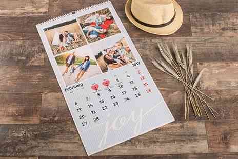 Ecolorland - One, Two or Three Photo Calendars with Cover and 12 Pages - Save 0%