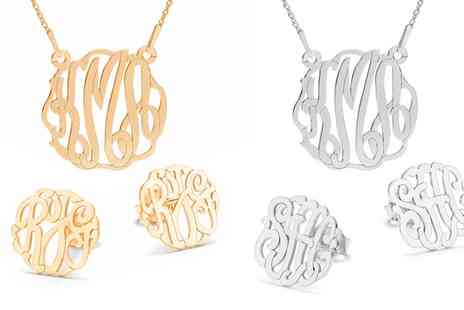 Jewells House - Personalised Monogram Jewellery Set With Free Delivery - Save 0%