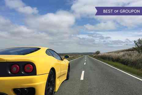 Golden Moments - 20 or 45 Minute Ferrari Driving Experience - Save 0%