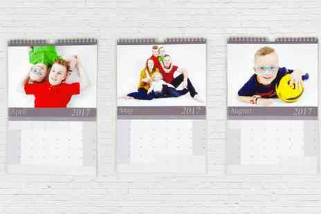 Portland House - Family Photoshoot with a Desk or Wall Calendar - Save 0%