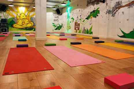 121 Urban Hot Yoga - Five Sessions of Hot Yoga - Save 73%