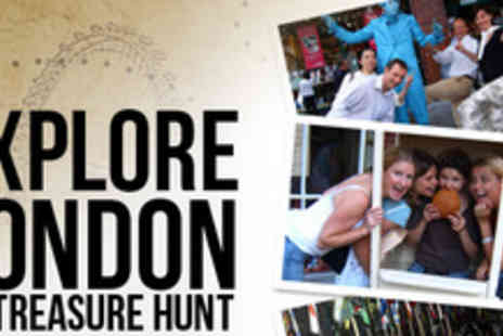 UK the Game - Seek the treasures of London with 50% off an interactive treasure hunt - Save 50%