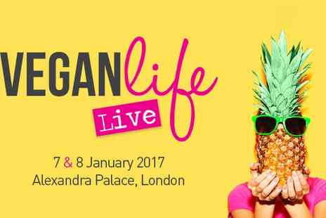 Alexandra Palace - Two Tickets to Vegan Life Live, Alexandra Palace on 7 and 8 January 2017 - Save 55%