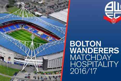 Macron Stadium - Bolton Wanderers VIP Package Choice of Three Fixtures on 12 December 2016 To 4 March 2017 - Save 30%