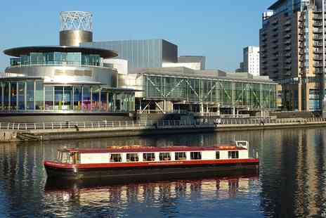 City Centre Cruises - Manchester Boat Cruise with Two Course Lunch for Two, Four or Six - Save 0%