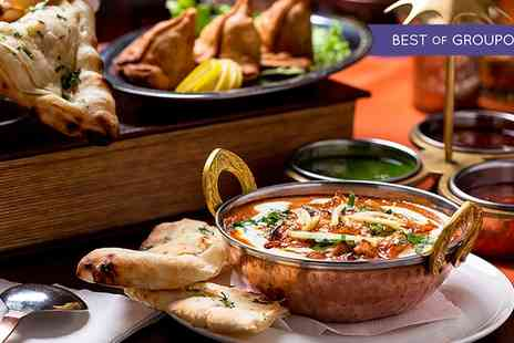 Pavilion restaurant - Two Course Indian Meal With Wine For Two, Four or Six - Save 56%