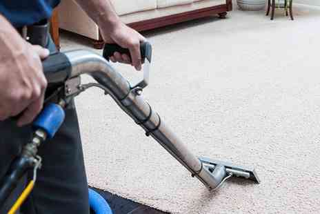 Lemon Squeezy Cleaning - Carpet Cleaning Service in Two Rooms with Optional Hallway - Save 50%
