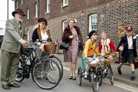 Historic Dockyard Chatham - Salute to the 40s Vintage Festival 2017 for Two - Save 0%