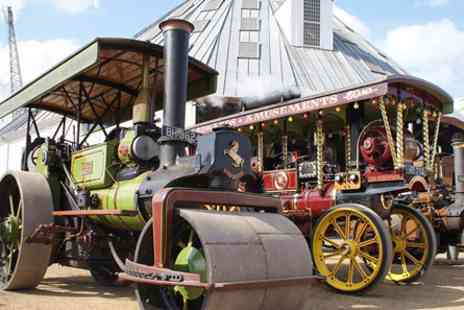The Historic Dockyard Chatham - Festival of Steam and Transport 2017 Family Ticket - Save 0%