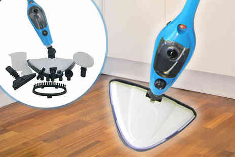 Home Decor Online - Eleven In One Multifunctional Steam Mop - Save 73%